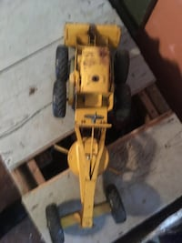 Road Grader 3000 Yellow Toy Truck