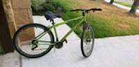 green and black hardtail mountain bike Harker Heights, 76548