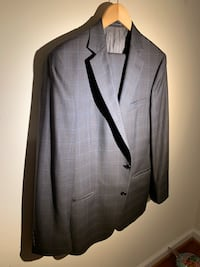 gray and Blue, formal suit jacket and pants Size 42 Barely used great condition . Woodbridge, 22193