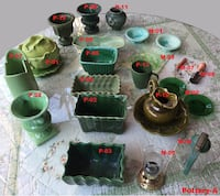 Pottery Collection Items - Group A