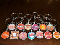 Pepsi/ orange crush keychain collection Montréal, H8S 3N3