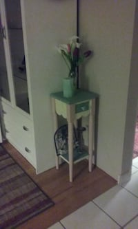 Small table with drawer.painted in pastels. Fort Myers, 33908