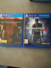 Metal gear solid:the phantom pain & uncharted 4