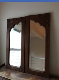 Antique 2 Piece Mirror  Reston, 20190