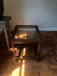 Glass top side table  Charlotte, 28203