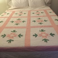 Pink, White, Green Quilt Redwood City, 94062