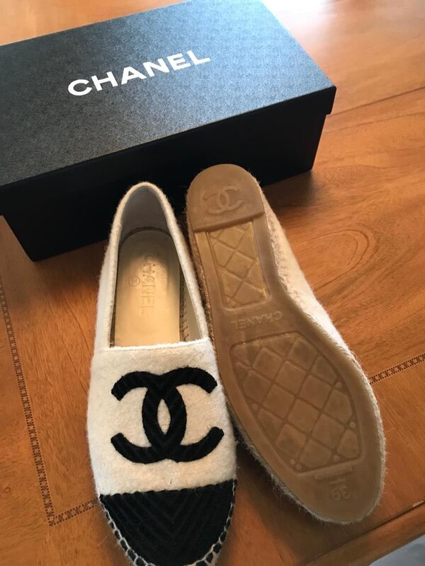169dd4d2a0a Used Authentic Chanel espadrilles for sale in San Jose - letgo