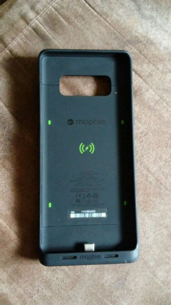 new style d1200 31efa Mophie note 8 charging phone case