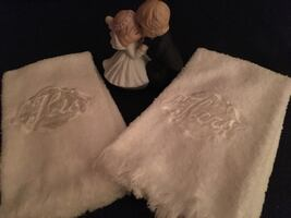 Wedding Accents - (must pick up or pay for shipping