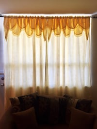 "3 curtain panels 56""x87"" Toronto, M3J 1L7"