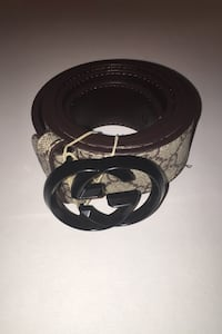 Fake/Replica Gucci Belt large but can be cut down to size