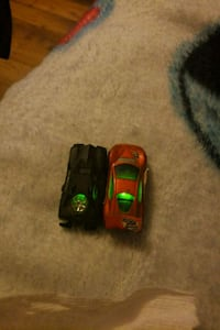 Hotwheel cars glow in the dark 2379 mi