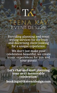 Event and Wedding Planning Ajax