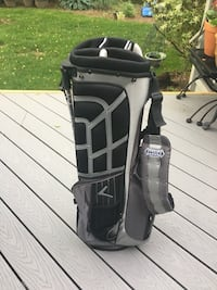 Callaway Golf Lightweight Carry Stand 5 Slot Black and Gray Golf Bag NEW BRAND NEW NEVER USED Westfield, 07090