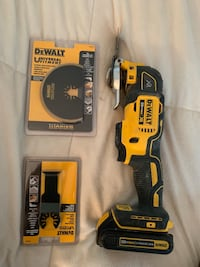 DEWALT 20V MAX XR BRUSHLESS OSCILLATING TOOL N ATTACHMENTS Coram, 11727
