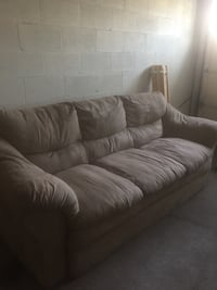 Grey fabric  3-seat sofa Richmond Hill, L4B 4L5