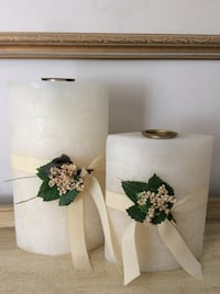 Set of 2 beautiful Candles New Milton, L9T 8G1