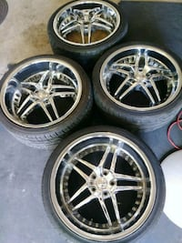 Rims and tires San Antonio