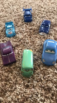 CARS movie matchbox toy cars  Clarksville, 21029