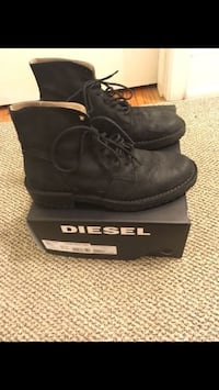 Diesel black shoes never used Size 10:5  Arlington, 22201