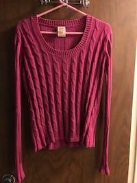 Pink Cable knit Sweater  Fair Oaks, 95628