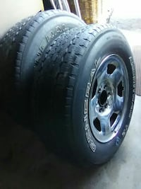Tires  17's 6 hole 4 set of Commerce City, 80022
