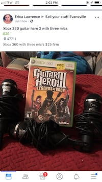 Xbox 360 games and three mic's