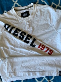 Diesel 1979 %100 Cotton Long Sleeve Shirt Large*❤️