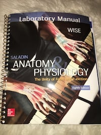 Saladin Anatomy and Physiology Lab Manual Frederick, 21702