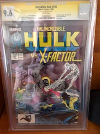 Stan lee signed HULK Acton, L7J 2Z6