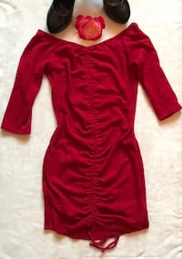Cherry Red body con dress Salinas, 93905