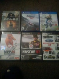 3 ps 2, 1 ps3, 2 ps 4 South Bend, 46616