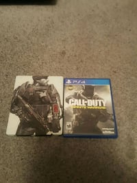Two ps4 games and then are both call of duty 3152 km