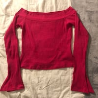 Forever21 Off the Shoulder Long Sleeve Top Toronto, M1C 5A1