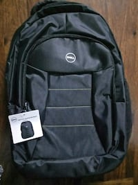 Black Dell backpack on sale only for 800