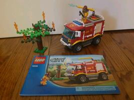 LEGO City fire truck toy