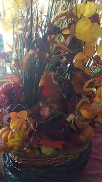 Beautiful fall flowers center piece measuring just Watauga, 76148