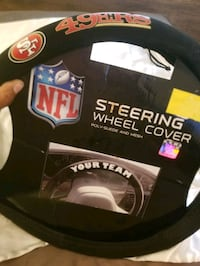 Steering wheel cover --San Francisco 49's Capitol Heights, 20743