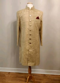 Men Sherwani with Slim Bottom (Churidar)