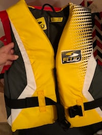 Brand new adult nylon life jacket, large Oakville, L6H 6L4