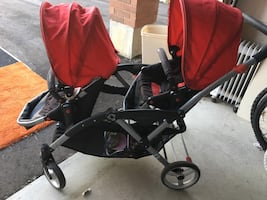 Double stroller for sale