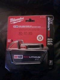 Brand new Milwaukee battery  Abbotsford, V2T 6Y8