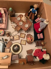 STROMBECKER Vintage Miniature Dolls and accessory LOT Omaha, 68144