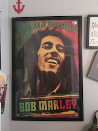 Bob Marley poster  Houston, 77075
