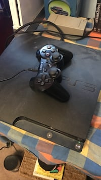 Black Sony PS3 slim console with controller Winnipeg, R2V 3P6