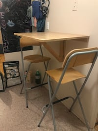 Wall table dining set Toronto, M9A 4X9