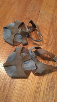 Tan half sol dance shoes Hagerstown, 21742
