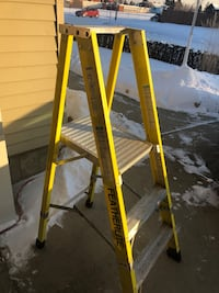 Featherlite platform ladder make an offer