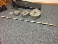 Weights and bar South Chesterfield, 23803