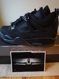ORIGINAL Jordan 4 Retro black cat Oslo, 0458